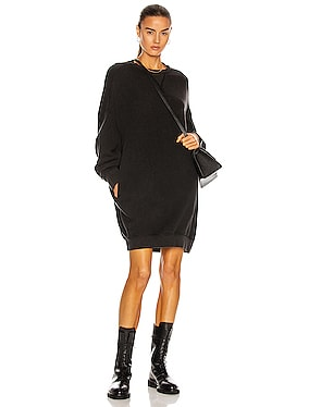 Grunge Sweatshirt Dress