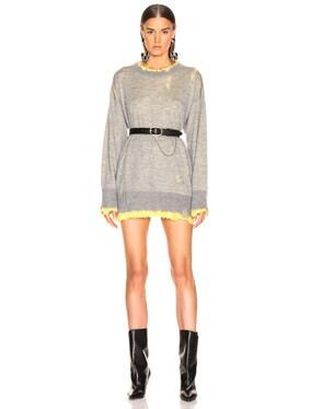 Reversible Crewneck Sweater