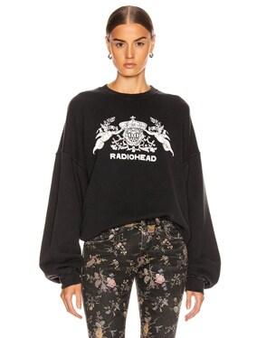 Bearhead Crest Sweatshirt