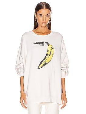 Velvet Underground Oversized Hoodie