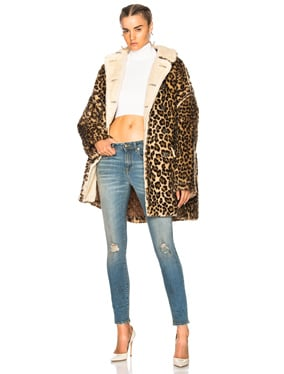 Leopard Huntington Coat