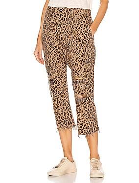 Leopard Utility Pants
