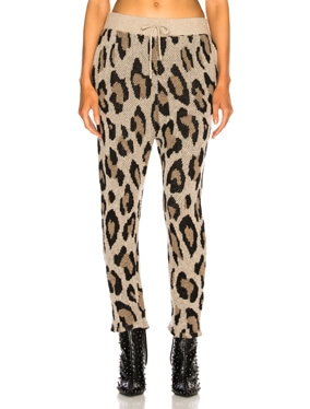 Cashmere Leopard Pant