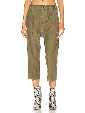 Utility Drop Crotch Pant
