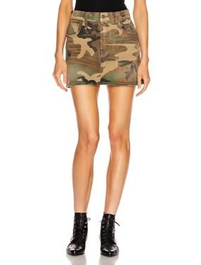 High Rise Mini Skirt