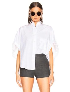 Oversized Rolled Sleeve Shirt