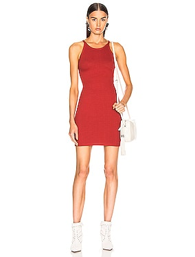 Alloy Rib Banded Mini Dress