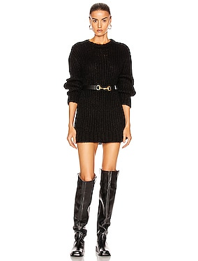 Rib Crew Sweater Dress