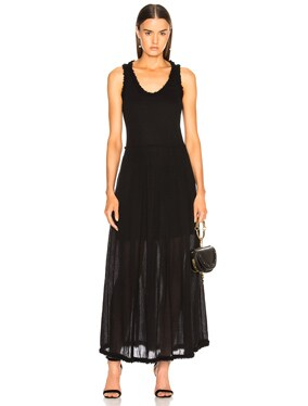 Pleated Medley Dress
