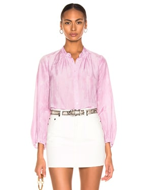 Shirred Bell Blouse