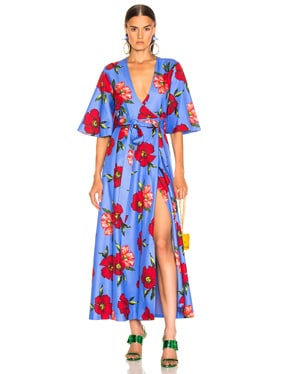 Daisy Wrap Dress