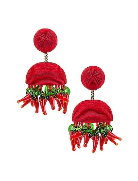 Paprika Earrings