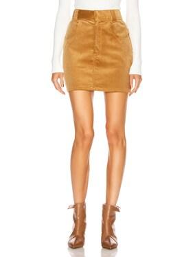 90's Ultra High Rise Western Pocket Skirt