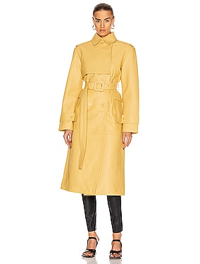 Pirello Leather Coat