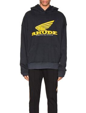 Yellow Rhonda Hoodie