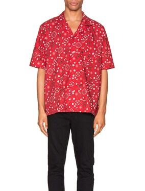 Bandana Hawaiian Shirt