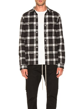 Cotton Plaid Outershirt