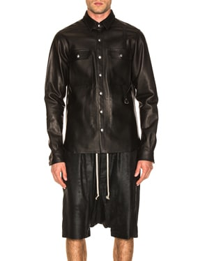 Leather Outershirt