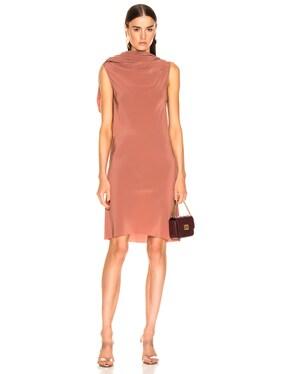 Bias Toga Tunic Dress