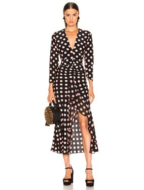 Rose Maxi Spot Dress