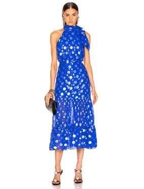 Eleanor Lame Spot Dress