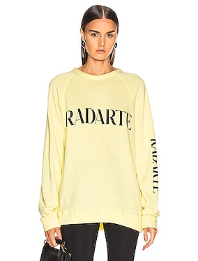 Oversize Radarte Los Angeles Sweatshirt