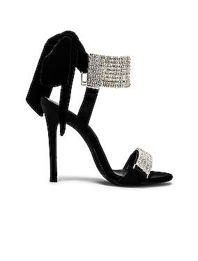 Embellished Bow High Heels