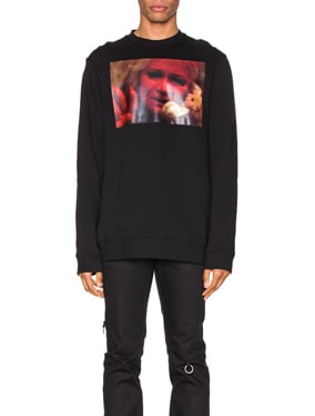 Mother On Phone Crewneck