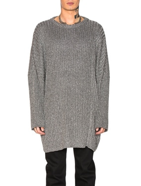 2 Collared Oversized Sweater