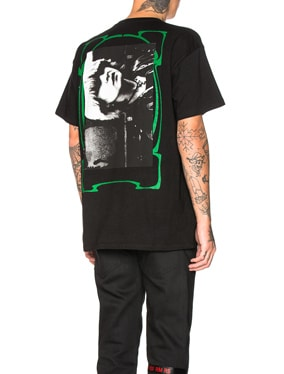 Big Fit Green Frame Toya Graphic Tee