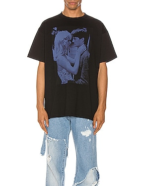 Blue Couple Tee