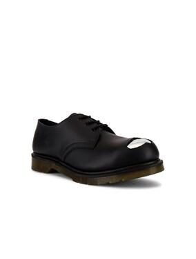 x Dr. Martens Cut Out Steel Toe Shoes