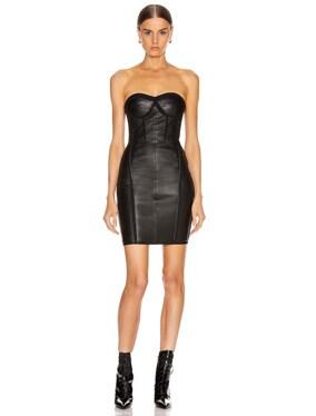 Gwenyth Leather Dress