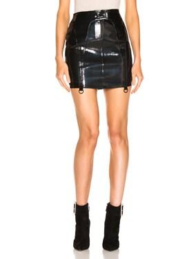 Zander Leather Skirt