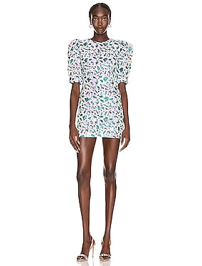 Christina Sequin Mini Dress
