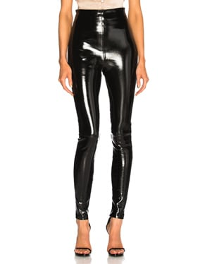 Jessica Patent High Waisted Leggings
