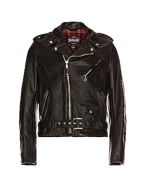 Vintage Fit Moto Jacket