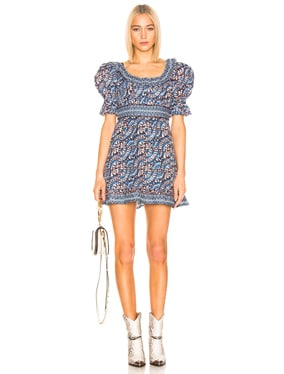 Luella Long Sleeve Scoop Neck Dress