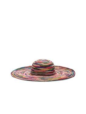 Long Brim Lady Crochet Hat