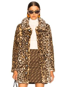 Faux Fur Paddy Coat