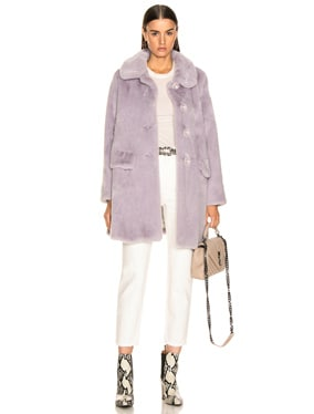 Pyrus Faux Fur Coat