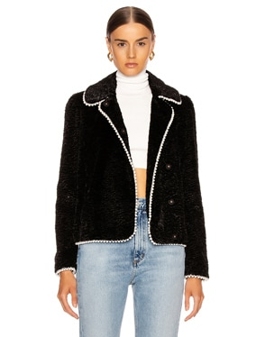 Argus Faux Fur Jacket
