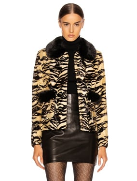 Duke Faux Fur Coat