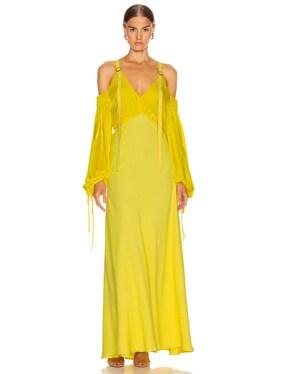 Carter Fluid Corduroy Dress