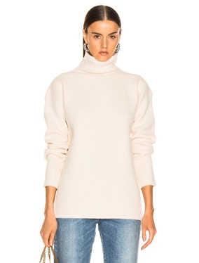 Wolf Merino Turtleneck Sweater
