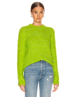 Leta Fuzzy Slim Sweater