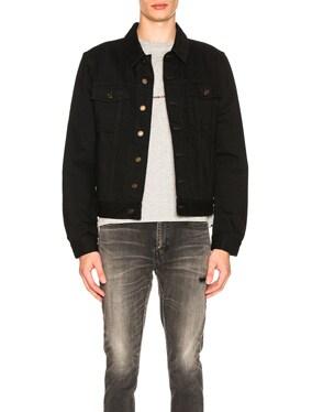 Denim Jacket in Black