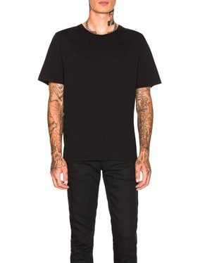Embroidered Script Tee