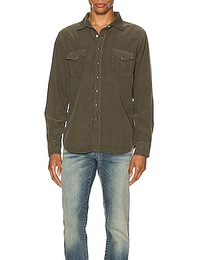 Classic Western Corduroy Shirt
