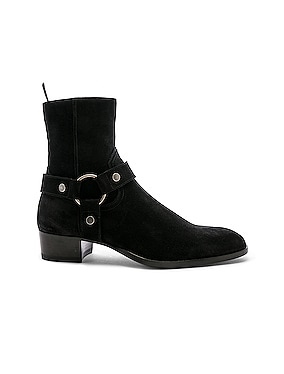 Suede Wyatt 40 Harness Boot